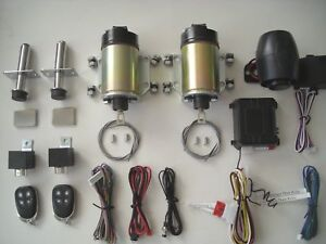 SUPER DUTY 80LB SHAVED DOOR HANDLE KIT DOOR POPPERS WTH ALARM QUALITY SOLENOIDS