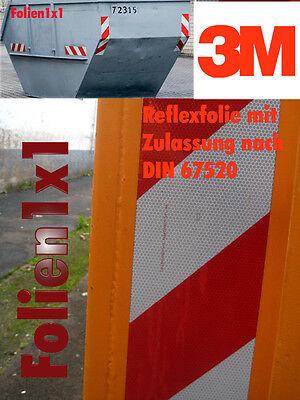 42,20€/qm 3M Container-Warnmarkierung 10 Satz 8-tlg-Set CWM 3310 DIN67520 Reflex