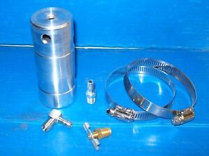 Billet Aluminum Oil Catch Can Stock Go Kart Racing