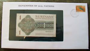 *Banknotes of All Nations Suriname Dec. 1984 1 Gulden P116h GEM UNC*
