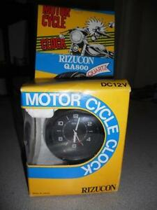 NOS-Motorcycle-Clock-Rizucon-QA800-DC12V-H2-Z1-CB750-GL1000-Ultimate-Accessory