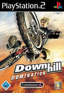 Downhill Domination mit Anleitung (PS2) - DVD wie Neu