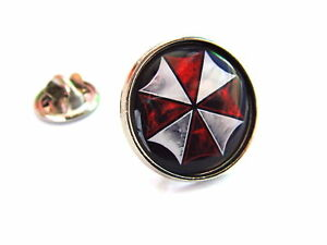 RESIDENT EVIL UMBRELLA CORPORATION LAPEL PIN BADGE GIFT