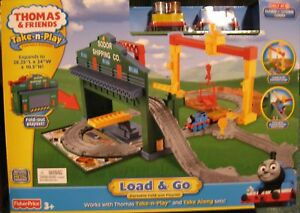 Take-n-Play-along-THOMAS-LOAD-n-Go-Playset-nib-wwship