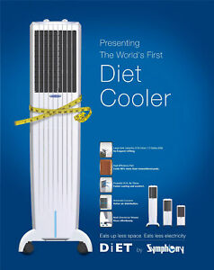 Air Conditioning Evaporative Cooler Symphony DiET 8T