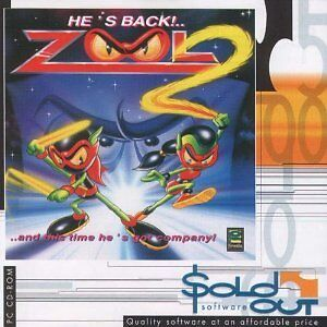 ZOOL 2 - PC Platform Game - Brand New