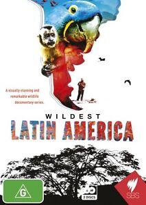 Wildest Latin America (DVD, 2013, 2-Disc Set) - Brand New and FREE POSTAGE