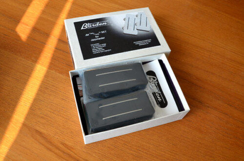 Jbe Aka Joe Barden Jm Two/tone Pickup Set For Jazzmaster Black Made In Usa