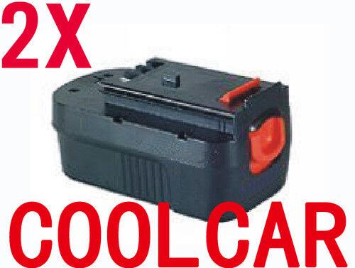 2 Batteries For Black Decker B&D Firestorm 18V B 2.0Ah Ni-Cd A1718 FS18BX NEW OZ