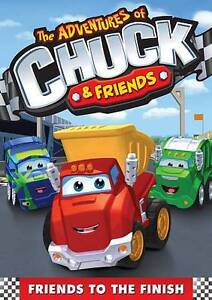 The Adventures Of Chuck And Friends: Friends To The Finish DVD