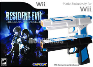 Wii-Resident-Evil-Darkside-Chronicles-2x-Light-Guns
