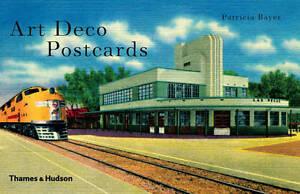 Art Deco Postcards Patricia Bayer Hardback New Book