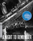 A Night to Remember (Blu-ray Disc, 2012, Criterion Collection)