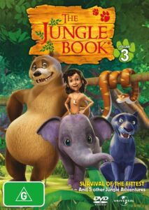 THE-JUNGLE-BOOK-Volume-3-Survival-of-the-fittest-DVD-SEALED-R4