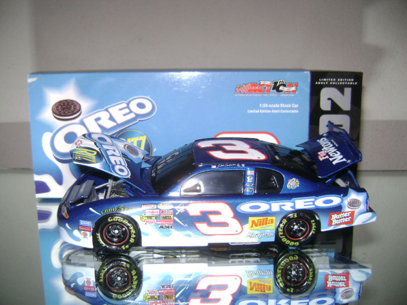 Dale Earnhardt Jr 3 2002 1/24 Scale Oreo/ritz Monte Carlo Bwb 1/2508