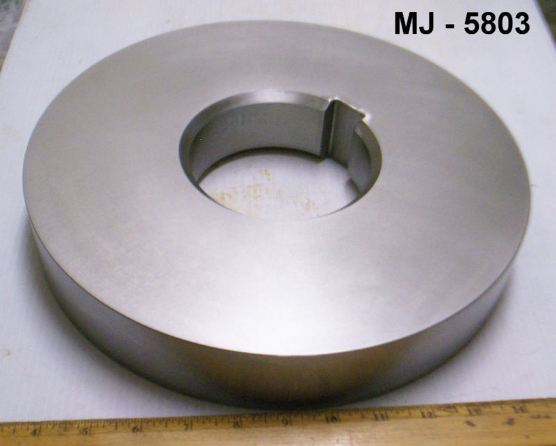 General Electric Thrust Bearing Collar for Steam Turbine - P/N: 00437B673-2(NOS)