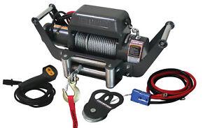 Champion-10-000-Winch-Kit-w-Hitch-Mount-Adapter-11006