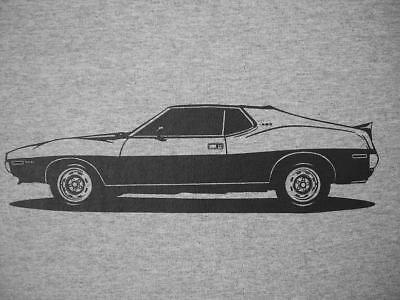 1972 Amc Javelin Amx T Shirt  1971  1973