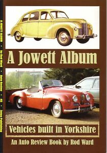 Book Jowett History Javelin Jupiter Bradford + Cars from Yorkshire - Auto Review