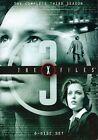 The X-Files - The Complete Third Season (DVD, 2009, 7-Disc Set, Thinpak Checkpoint; Sensormatic; Widescreen)