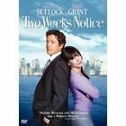 Two Weeks Notice (DVD, 2003, Full Frame) (DVD, 2003)