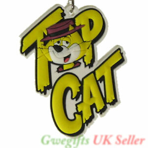 Retro Keyrings Bag Tags Designer Funny Novelty Cartoon