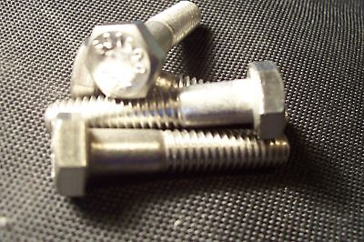 Stainless Steel Hex Cap Screw Bolt 5/16-18 x-1-3/4