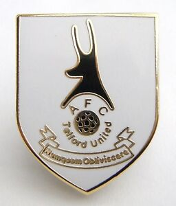 TELFORD (Non-League) Pin Badge - NEW + FREE(UK)P&P