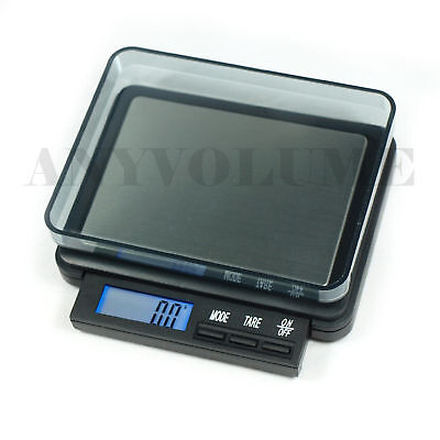 2000g X 0.1g Digital Pocket Scale Dz-2000 Portable High Capacity Precision Scale
