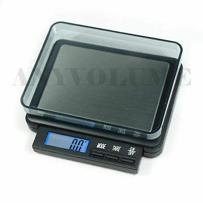 0.1g x 2000g Digital Pocket Scale DZ-2000 Coin Jewerly Precision Scale 0.1 Gram