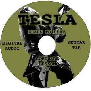 TESLA-Guitar-Tab-Lesson-Software-CD-22-Songs