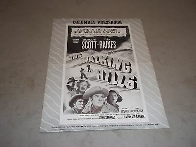 1949 THE WALKING HILLS MOVIE PRESS BOOK RANDOLPH SCOTT & ELLA RAINES - P 51