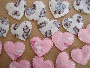 50-Cotton-Baby-Sweet-Dream-Print-Heart-Pink-Blue-H506