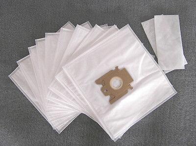 10 Staubsaugerbeutel Für Miele S 371i, Staubbeutel Filtertüten +2 Filter