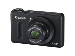 Canon PowerShot S100 12.1 MP Digital Cam...