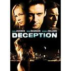 Deception (DVD, 2009, Checkpoint; Dual Side; Pan and Scan; Sensormatic; Widescreen)