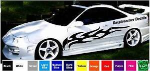 TRIBAL RACING FLAMES #3 DECAL KIT / VINYL STICKER CAR GRAPHICS / RACING STRIPES