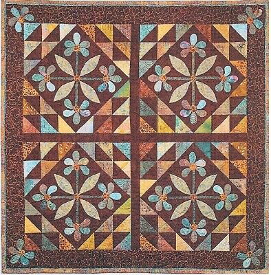 Mexican Rose Quilt Patter By Quilt Woman
