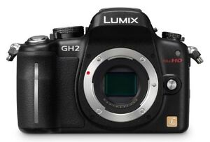 Panasonic LUMIX DMC-GH2 16.0 MP Digital ...