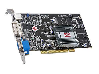 Apple Mac G4 G5 Ati Radeon 7000 Pci 64Mb Video Card Dvi Vga S Video Tv Out Os9