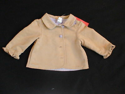Gymboree Cowgirls At Heart Faux Suede Coat Jacket 6-12 M