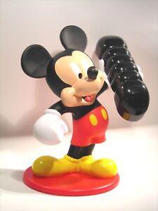 Disney Mickey Mouse analog Telefon Maus Figur 29cm f. Sammler ? schönes Geschenk