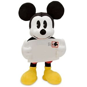 Disney-Postcard-Mickey-Mouse-16-Super-Soft-Plush-Toy