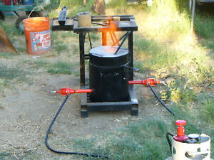 Gold Silver Melting Foundry Furnace Propane Fired Hd 2 Hi