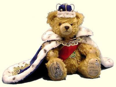 Hermann Coburg Teddybär König Ludwig II. von Bayern - Swan King