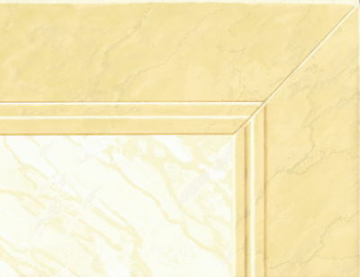 20 1/2 Wainscoting Melon Frame Wallpaper Border Wall