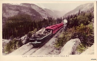 The Canadian Pacific Rwy Transcanada Limited Field  B C