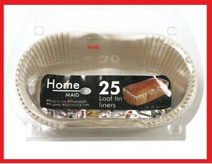 20 pack 1lb size non stick loaf tin liners disposable. Black Bedroom Furniture Sets. Home Design Ideas