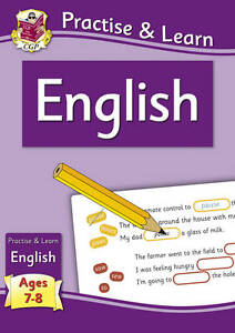 Practise & Learn: English (ages 7-8) by CGP Books (Paperback, 2011)