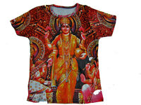 Hindu God Print Yoga T-shirts